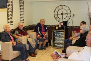 Enjoy free refreshments and comfortable seating in our state-of-the-art waiting room.