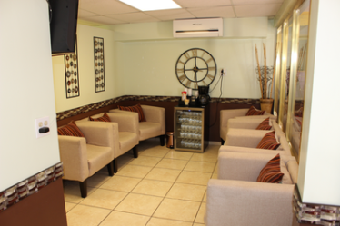 Our beautiful waiting room. Supreme Dental clinic provides the best dental prices in Mexico.